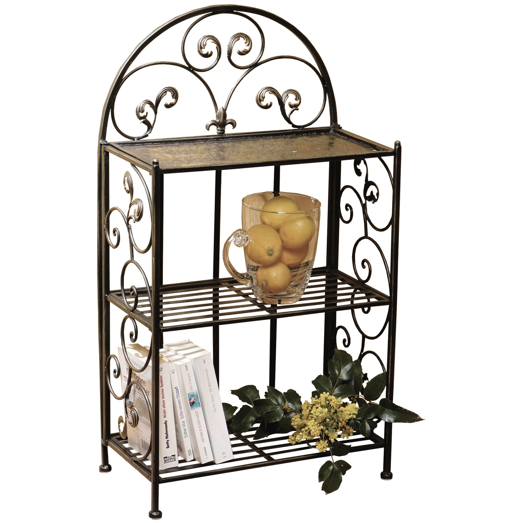 metal shelf decorative 32 metal shelf with wrought iron