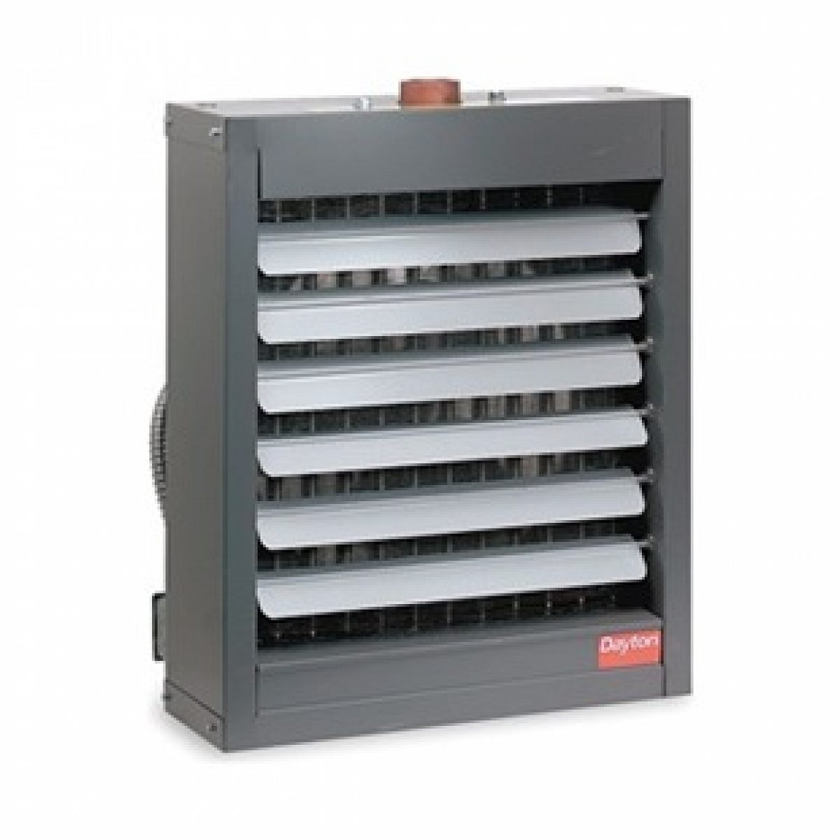 Dayton Hydronic Unit Heater, 29 In. H, 2200 Cfm - Pricefalls.com
